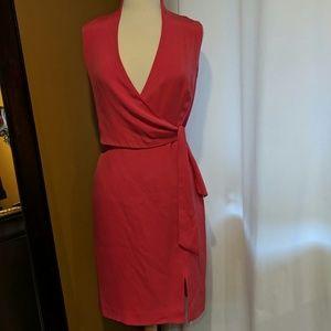 Silk Jones New York wrap dress